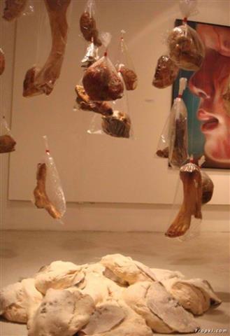 Kittiwat Unarrom Body Parts Realistic Bread