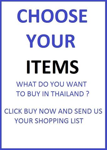 SHOPPING FEE CHOOSE YOUR PRODUCTS BANGKOK SHOPPING ONLINE