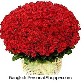 Send Flowers to Thailand for Valentine Day
