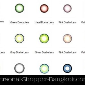 BLUE CIRCLE LENS GEO ANGEL SERIES CM-832 DENIM BLUE COLOR